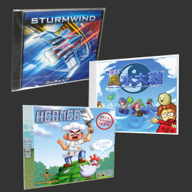 DreamCast Game Pack: Sturmwind, Hermes, Wind and Water