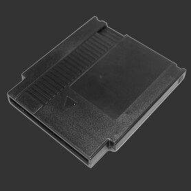 NES Cartridge Shell (Black)