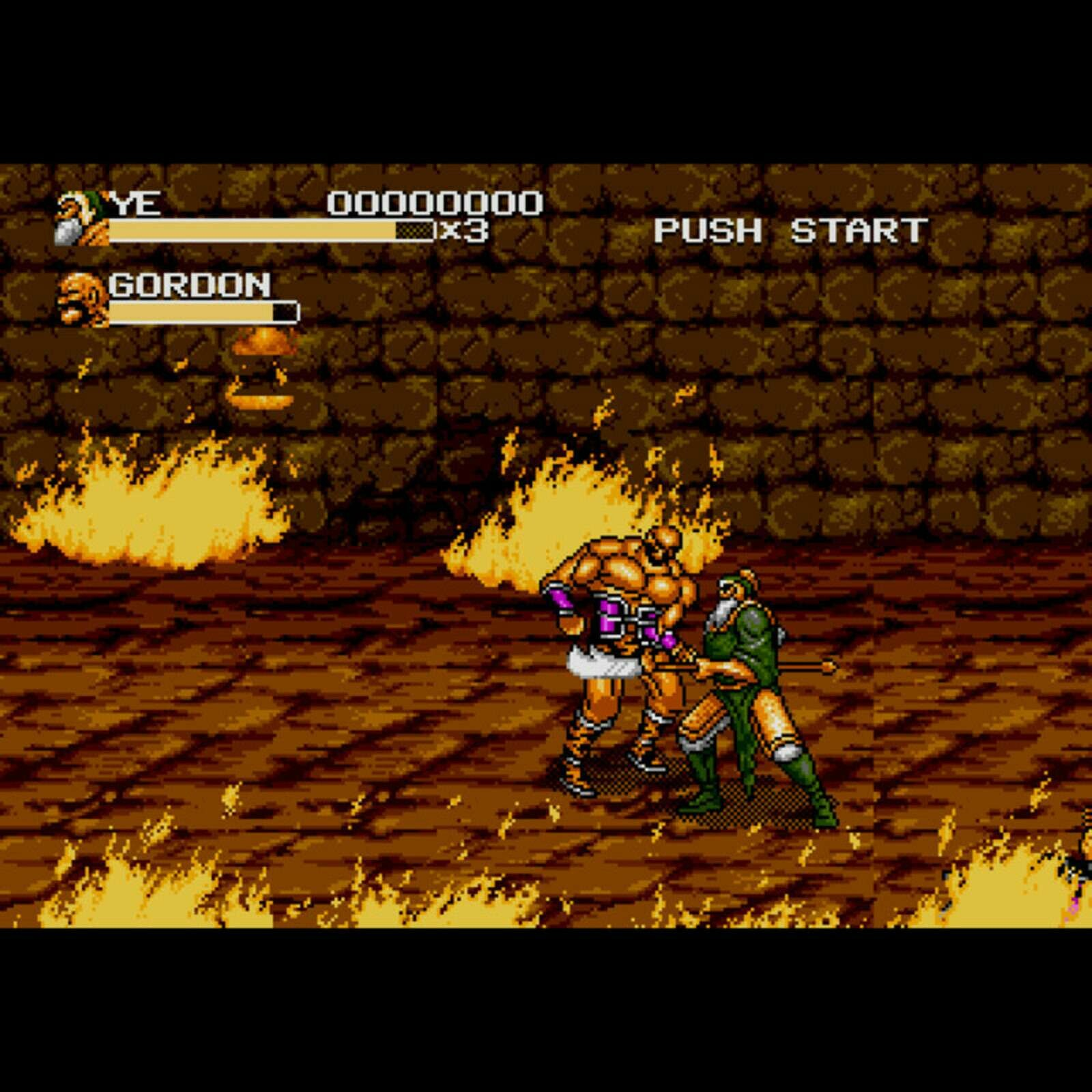 Clan of Heroes - Generals of the Yang Family (MegaDrive)