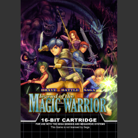 Brave Battle Saga - Legend of the Magic Warrior (MegaDrive / Genesis)